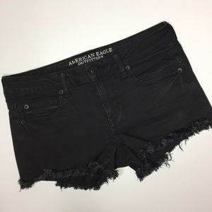 American Eagle black shorts size 12